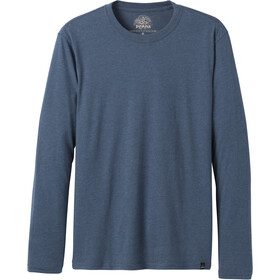 Prana Long Sleeve Camiseta manga larga Hombre, denim heather